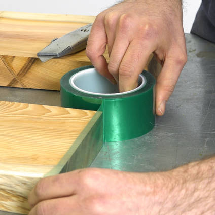 Resin Barrier Release Tape for Epoxy Resin